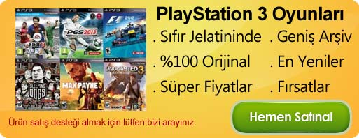 PLAYSTATION 3 OYUNLARI